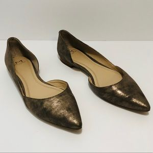 Marc Fisher LTD Sunny pointed toe metallic flats